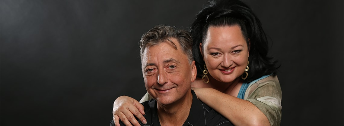 Tini Kainrath & Günter MO Mokesch - live mit Band